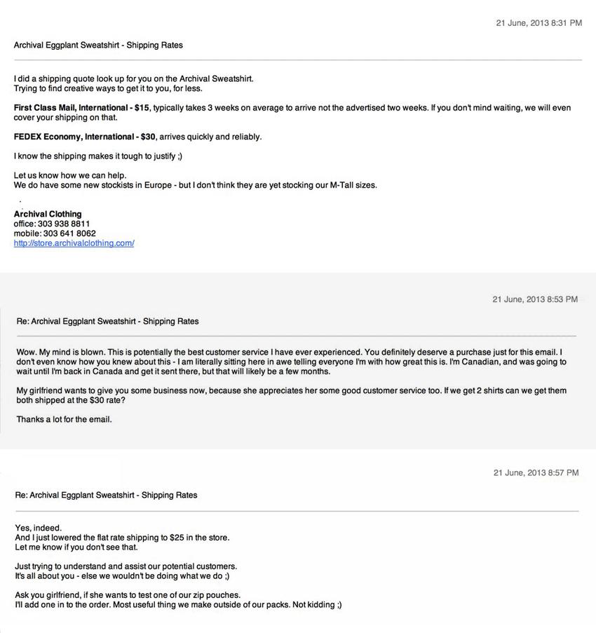 Delivering Excellent Customer Service via Email