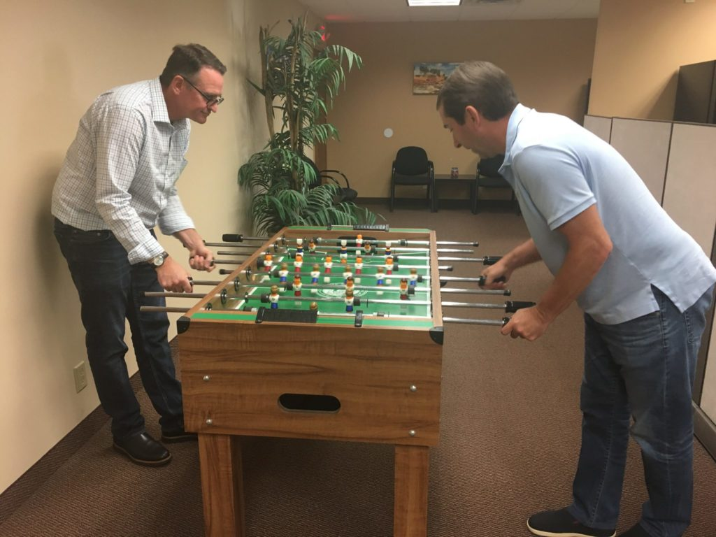 Outsource Consultants Foosball Tournament Fall 2017